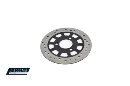 Rear brake disc escooter