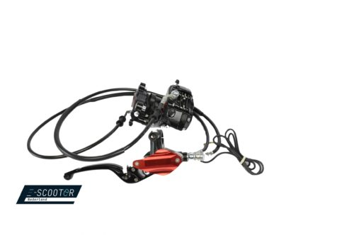 Front brake, complete set, for the Escooter Luqi HL6.0s